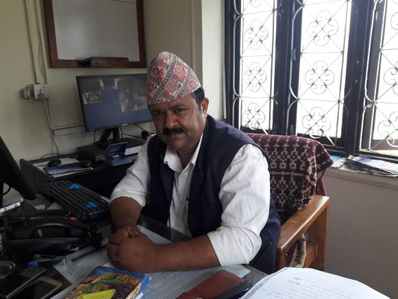 नवराज बराल-जिल्ला समन्वय अधिकारी graphic